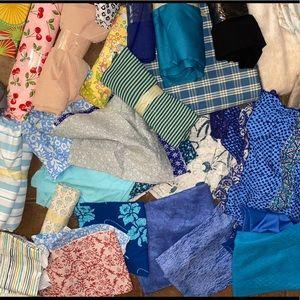 Huge Lot of Fabrics